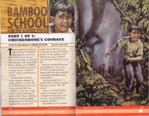 """Chickenbone's Courage"" - Guide, November 2003"
