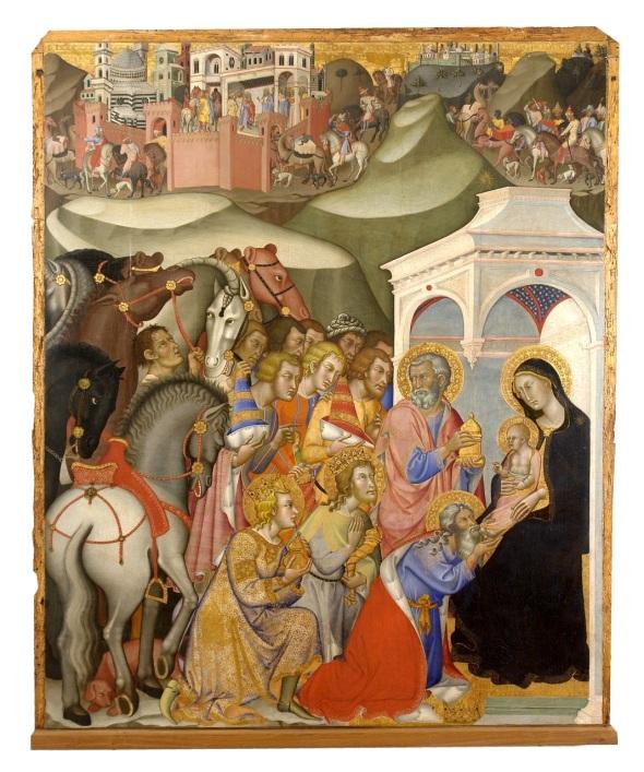 """""""Adoration of the Magi"""" - Bartolo di Fredi"""