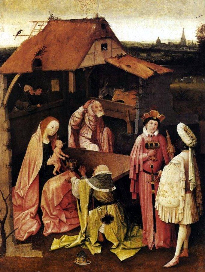 """Epiphany"" - Hieronymus Bosch"