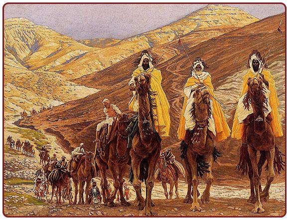 Wise men on camels