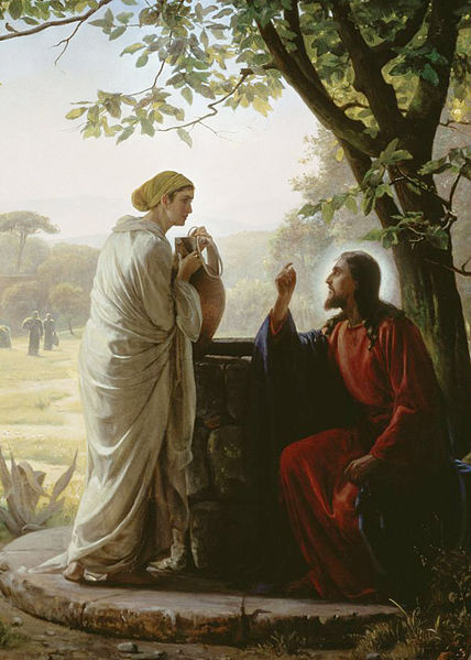 The Woman at the Well by Carl Heinrich Bloch
