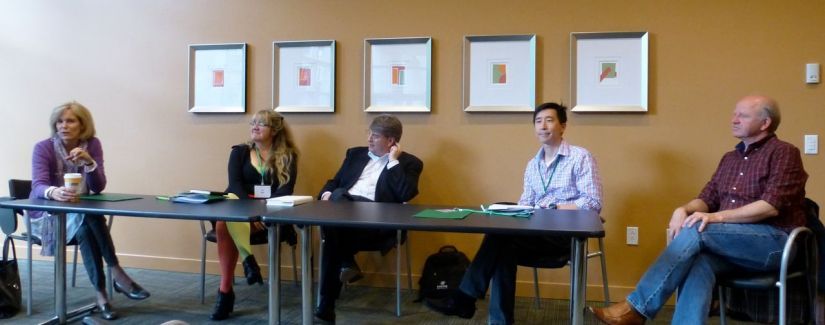 Permission to Write panelists - Write! Vancouver conference 2013