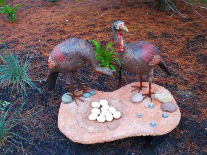 """Wild Turkeys … (they're back)"" by Jane Neff,"