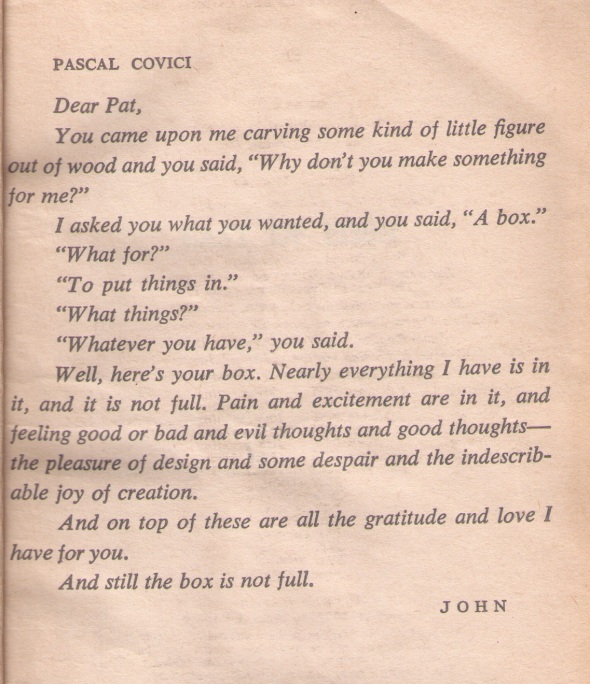 Note in East of Eden