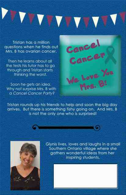 Mrs. B. Has Cancer - Back Cover