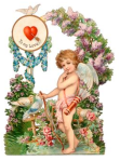 cupid valentine card