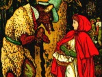 Red Riding Hood Illustration - Grimm's Fairy Tale
