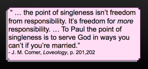 Loveology quote - J.M. Comer