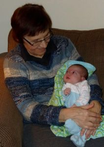 Grandma welcomes baby Isla.