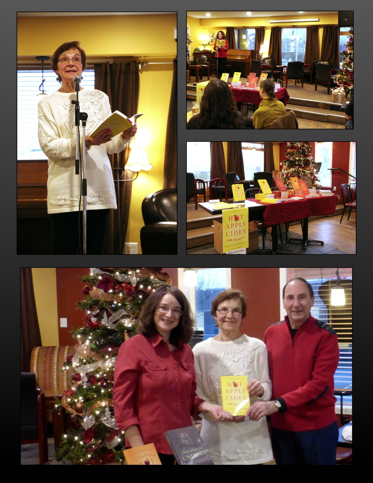 House of James book launch with Rose Seiler Scott and Bill Bonikowsky.