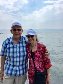 Photo by the Sea of Galilee