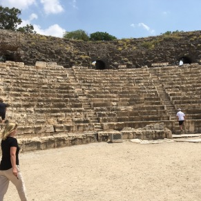 A theatre or amphitheatre of some sort. (Photo © 2019 by V. Nesdoly)