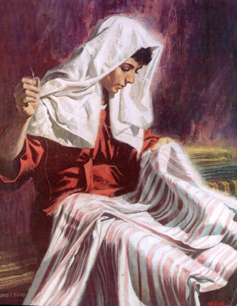 Dorcas (Tabitha) - Artist Unknown