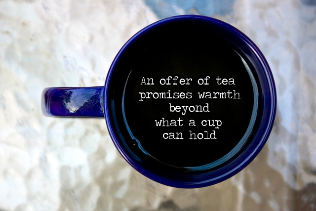 """An Offer of Tea"""
