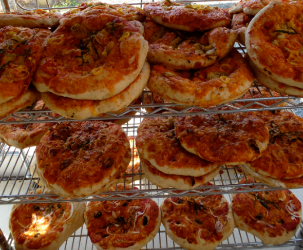 artisan flatbread