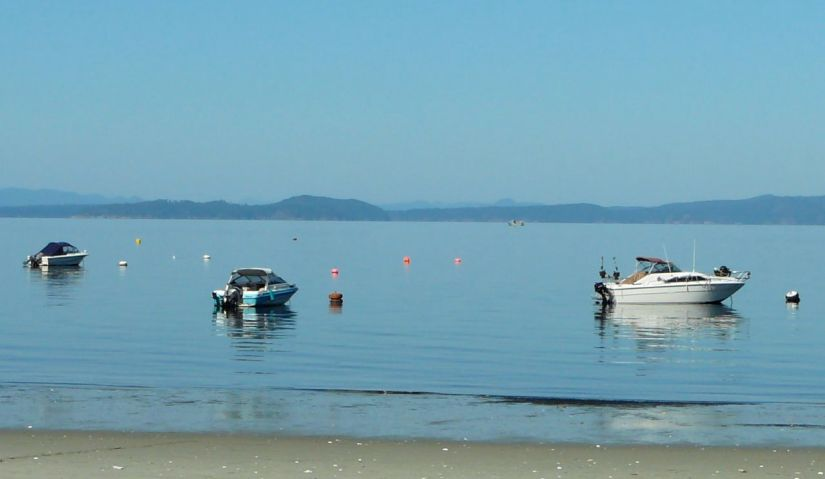 Savary Island in September