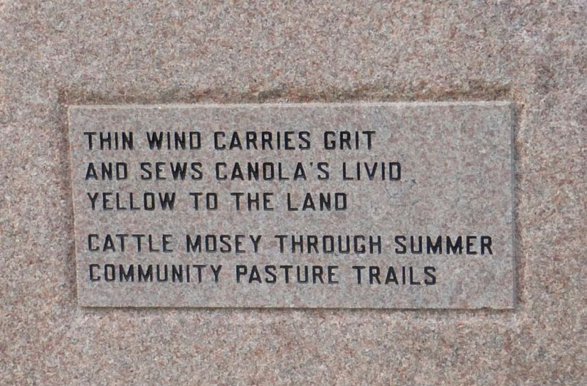Thin wind carries grit