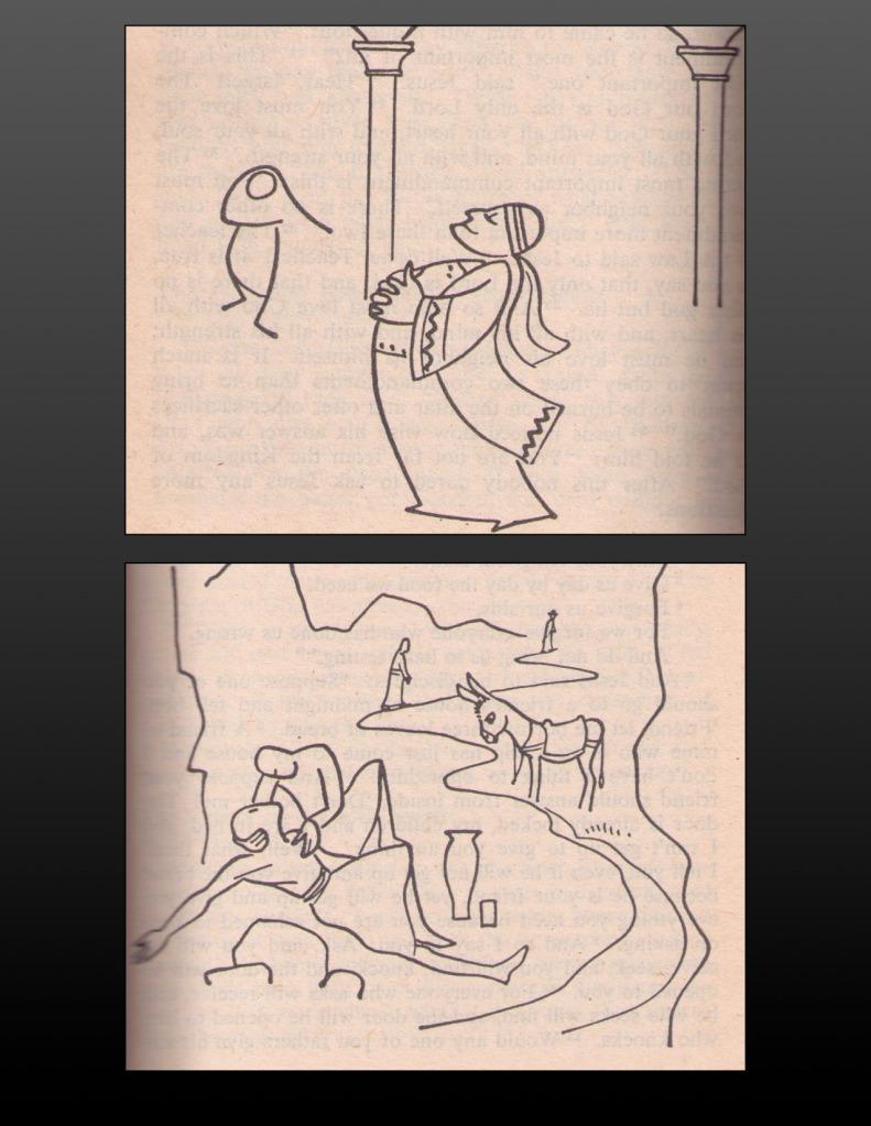 Annie Vallotton Bible illustrations