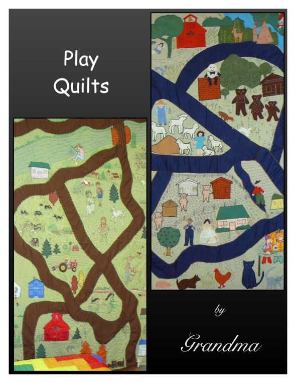 Play quilts by Grandma