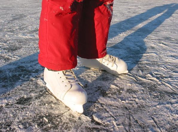 girl in skates