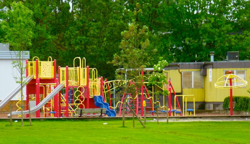 Children's outdoor playground