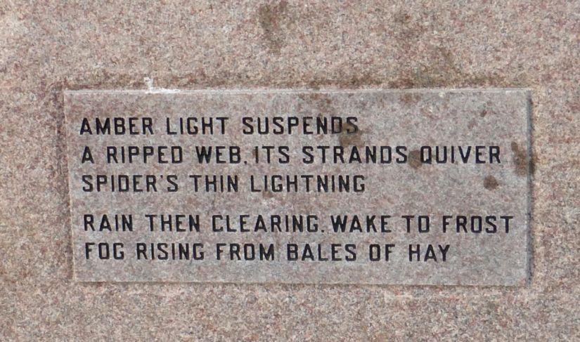 Amber light suspends
