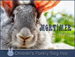 Children's Poetry Bloghop mascot - Mortimer