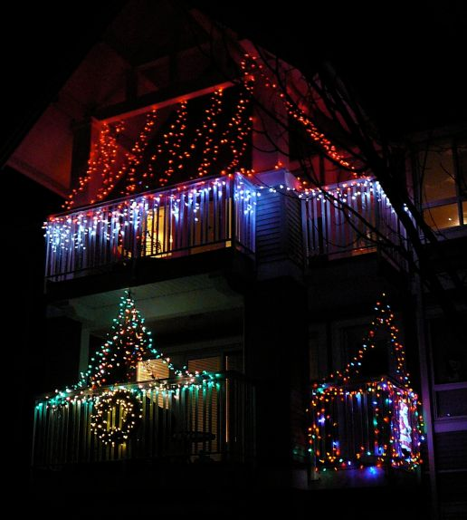 Christmas light decorations