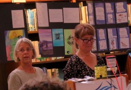 Our hostesses Nancy Johnson & Sylvia Tag